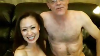 Chinese girl and older white guy