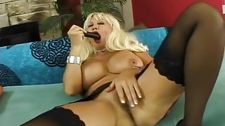 Blond Slut Claire Has Her Butt Thrusted