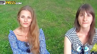 Myra is a naive young girl next door that gets tricked into her first outdoor sex session. She is ready to suck and fuck outside for money. And she does it with big enthusiasm in this video