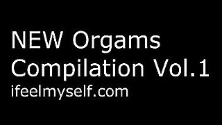 Female Orgasm Compilation Vol.1