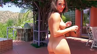 A hot girl Lily Love is on vacation with her boyfriend who loves shooting POV. So as he finds her at the poolside, some nasty action begins