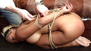Tied Up and Dominated Hard in the Bed