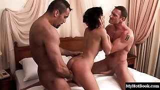 In this sensual MMF, hardcore threesome, youll enjoy watchin
