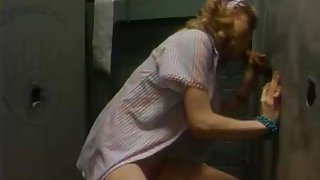 Horny classic scene with Henri Pachard and Sharon Kane