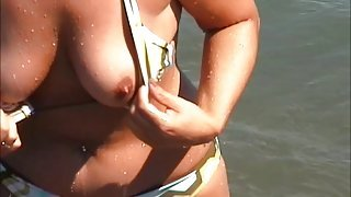 spyshots big tits and nipple slip