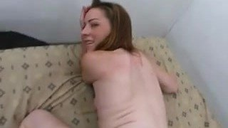 giving her some anal training