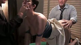 Cherry Torn, Mark Davis, Mr. Pete and Alan Stafford are playing a game of strip poker and it pretty quickly turns in to a wild and nasty humiliation action.