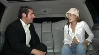 Ash Gracie Ley in Limousine