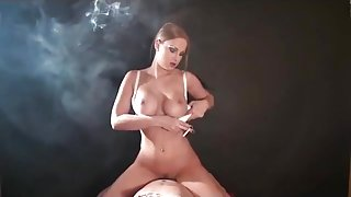 SMOKING COWGIRL