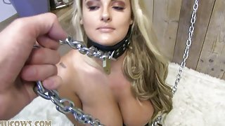 Chained & Felt Up!