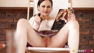 Tina Kay has a wicked tight shaved pussy