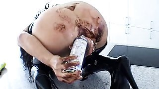 Bizarre mature fetish wife extreme anal and pussy games